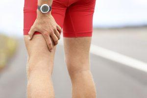 leg injury runner